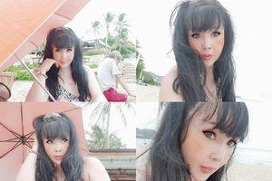 'Em bé Hà Nội' Lan Hương tung loạt ảnh gợi cảm, gây chú ý vì nhan sắc khác lạ