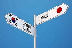 Hàn Quốc: Bóng đang ở trên phần sân của Nhật Bản