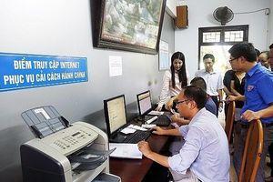 Tập trung cải thiện, nâng cao Chỉ số hiệu quả quản trị và hành chính công cấp tỉnh