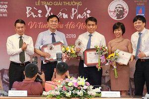 Xây dựng đường đua F1 nhận giải thưởng Bùi Xuân Phái – Vì tình yêu Hà Nội