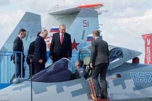 Tổng thống Putin 'chào hàng' thành công tiêm kích Su-57 cho lãnh đạo Thổ Nhĩ Kỳ