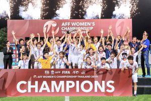 Thắng Thái Lan, Việt Nam vô địch giải bóng đá AFF Cup nữ 2019