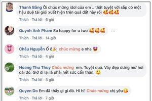 Đăng ảnh mặc váy rộng thùng thình thông báo tin vui, MC Phí Linh nhận về vô số lời chúc mừng