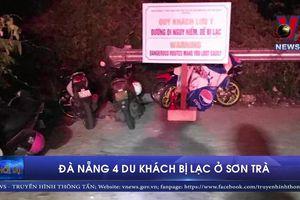 4 du khách bị lạc ở Sơn Trà - Đà Nẵng