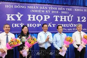 Hai tân Phó Chủ tịch UBND tỉnh Bến Tre là ai?