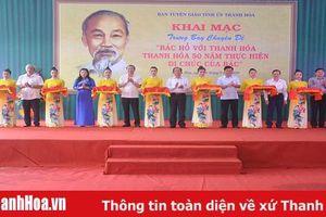 Trưng bày chuyên đề 'Bác Hồ với Thanh Hóa - Thanh Hóa 50 năm thực hiện Di chúc của Bác '