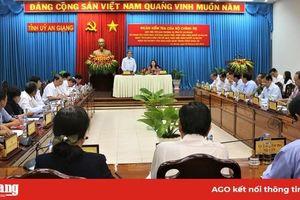 Đoàn kiểm tra Bộ Chính trị kiểm tra việc thực hiện Nghị quyết về công tác cán bộ ở An Giang