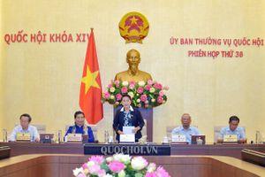 Kết luận phiên họp thứ 36 của Ủy ban Thường vụ Quốc hội