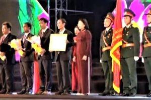 Phó Chủ tịch nước dự Lễ Kỷ niệm 60 năm cuộc khởi nghĩa Trà Bồng