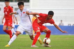 U15 Việt Nam đánh bại U15 Myanmar bằng siêu phẩm 'lá vàng rơi'