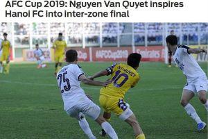 Hà Nội FC gặp CLB Triều Tiên ở chung kết liên khu vực AFC Cup 2019