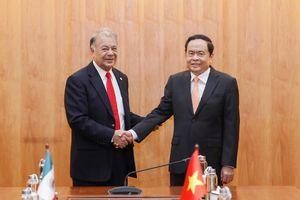 MTTQ Việt Nam sẵn sàng hợp tác với các tổ chức tương đồng của Mexico