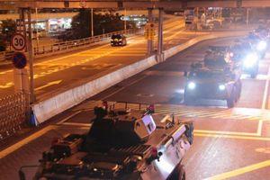 Trung Quốc đưa nhóm binh sĩ mới vào Hong Kong lúc rạng sáng