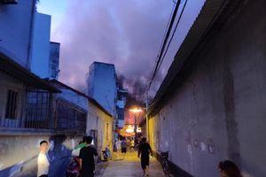 Cháy Rạng Đông: Không ăn thực phẩm nuôi, trồng bán kính 1 km