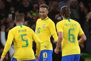 Brazil hủy trận giao hữu với Thái Lan