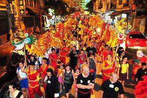Cấm đường phục vụ Lễ hội Trung thu phố cổ