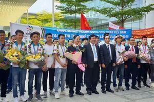 Thi tay nghề thế giới, đoàn Việt Nam chiến thắng trở về