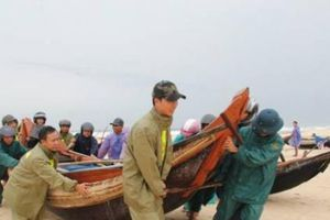 Công điện khẩn của Chủ tịch UBND tỉnh Quảng Trị về việc tập trung ứng phó với bão số 4