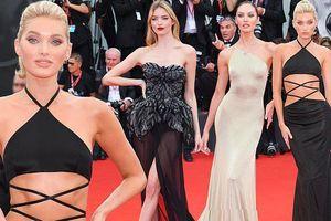 Dàn thiên thần Victoria's Secret diện đầm xuyên thấu, 'hở bạo' trên thảm đỏ