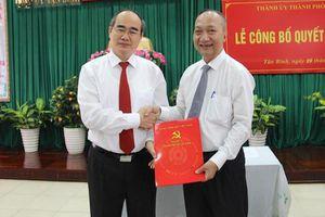 Điều động Chủ tịch UBND quận Gò Vấp làm Bí thư Quận ủy Tân Bình