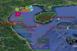 PVEP sẵn sàng ứng phó với bão số 4 Podul