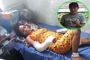 Bắt người chồng đánh vợ dã man khi vợ đang mang thai 7 tháng