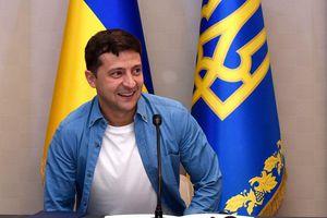 Bao nhiêu % người dân Ukraine tin tưởng Tổng thống Zelensky?
