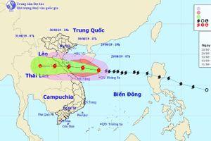 Bão số 4 Podul đổi hướng, mạnh lên và hướng thẳng Nghệ An đến Quảng Bình
