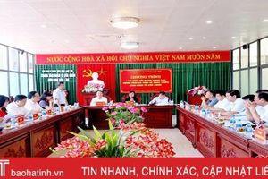 Phát triển kinh tế cửa khẩu, thu hút đầu tư của Lạng Sơn là kinh nghiệm để Hà Tĩnh học tập