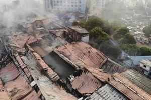 Những ảnh hưởng nặng nề sau cháy kho Công ty Rạng Đông