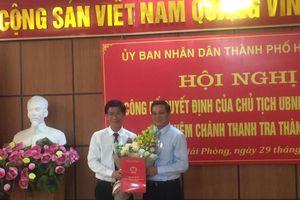 Ông Phạm Thành Văn giữ chức Chánh Thanh tra Hải Phòng