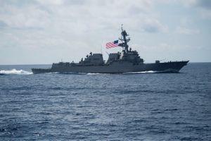 Mỹ điều chiến hạm tới Biển Đông, Trung Quốc phản ứng mạnh