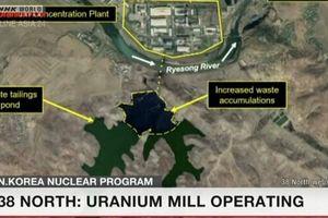 Nhóm 38 North: Triều Tiên tiếp tục làm giàu Urani