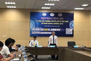 Hệ thống mạng đấu thầu quốc gia đạt giải thưởng Chuyển đổi số Việt Nam năm 2019