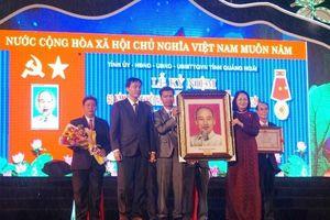 Phó Chủ tịch nước dự kỷ niệm 60 năm cuộc khởi nghĩa Trà Bồng