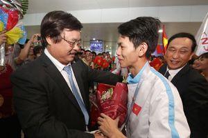 Đón Đoàn Việt Nam chiến thắng trở về từ Kỳ thi Tay nghề thế giới lần thứ 45