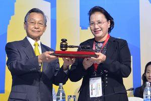 Chủ tịch Quốc hội Nguyễn Thị Kim Ngân tiếp nhận chức Chủ tịch AIPA 41