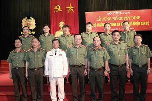 Thiếu tướng Nguyễn Đình Thuận giữ chức vụ Cục trưởng Cục An ninh kinh tế Bộ Công an