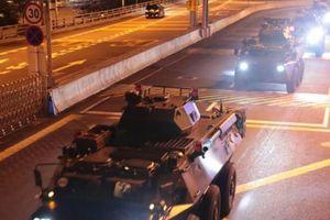 Trung Quốc triển khai binh lính mới đến Hồng Kông