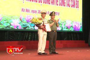 Công bố Quyết định của Bộ Công an về việc điều động, bổ nhiệm Phó Giám đốc CATP Hà Nội