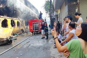 Công ty Rạng Đông lập ban khắc phục sự cố hỏa hoạn