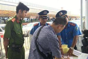 Xử lý nhiều xe không có hợp đồng tại sân bay Tân Sơn Nhất