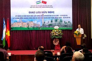 Thúc đẩy quan hệ hợp tác Việt Nam - Uzbekistan