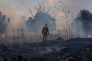 Cháy rừng bùng phát ở khu bảo tồn, bộ lạc Amazon lâm nguy
