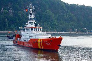 Nỗ lực tìm kiếm 10 thuyền viên đi trên tàu Thái Thụy 88 bị chìm