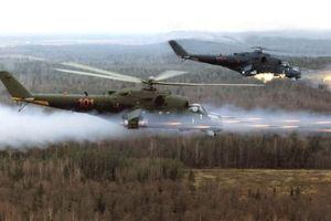 'Xe tăng bay' Mi-24 già cỗi tiếp tục được nâng cấp sức mạnh