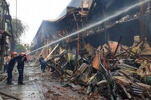 Chỉ số thủy ngân quanh công ty Rạng Đông sau vụ hỏa hoạn ở ngưỡng an toàn