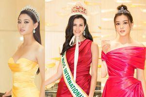 Hoa hậu Quốc tế đẹp rực rỡ 'đọ sắc' cùng dàn mỹ nhân Việt