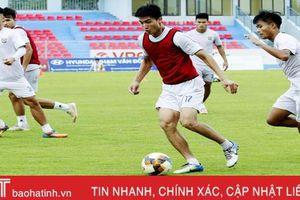 Hồng Lĩnh Hà Tĩnh quyết đánh bại Fico Tây Ninh để lên V.League trước 2 vòng đấu