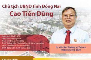 Chân dung Chủ tịch UBND tỉnh Đồng Nai Cao Tiến Dũng